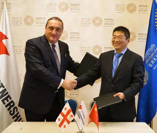 国能国际资产与伙伴基金签约设立格鲁吉亚国家建设基金