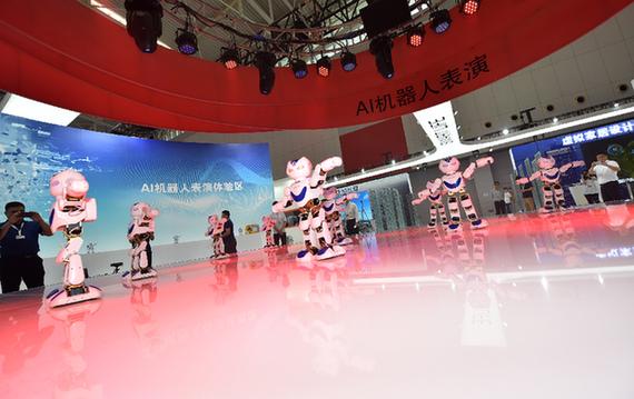 世界智能大会开幕 中国载人航天展位倍受各界青睐